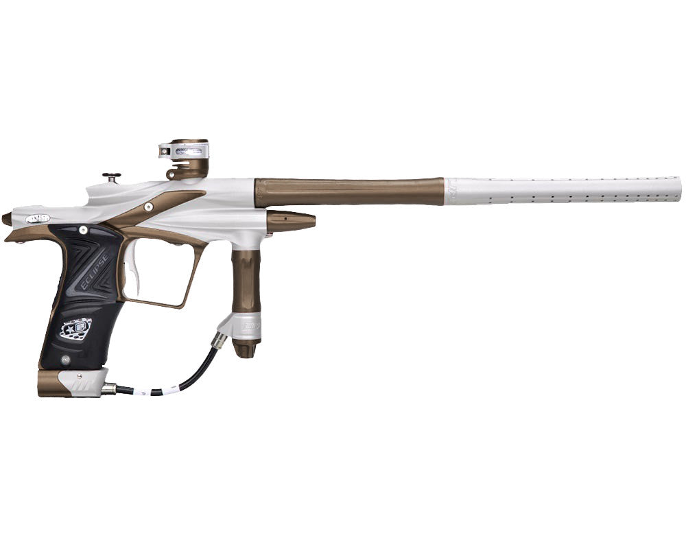Planet Eclipse 2011 Ego Paintball Gun - Dynasty White/Brown