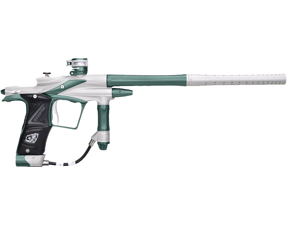 Planet Eclipse 2011 Ego Paintball Gun - Dynasty White/Forest Green