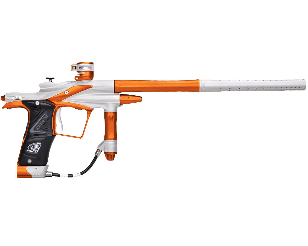 Planet Eclipse 2011 Ego Paintball Gun - Dynasty White/Sunburst Orange