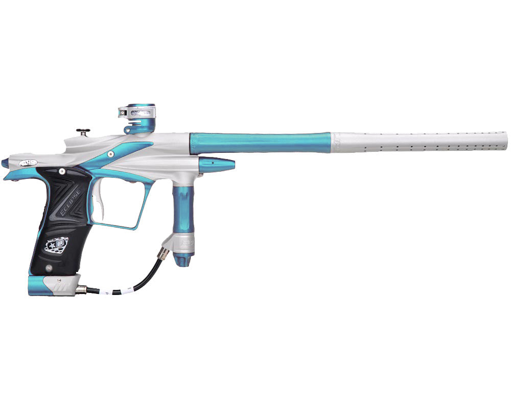 Planet Eclipse 2011 Ego Paintball Gun - Dynasty White/Dust Teal