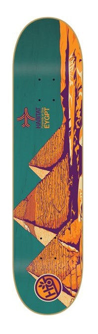 Habitat Airway Egypt - Green/Orange - 8.0in - Skateboard Deck