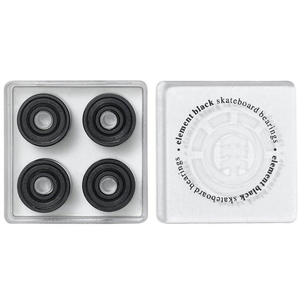 Element Black Bearing Set - Black - Skateboard Bearings