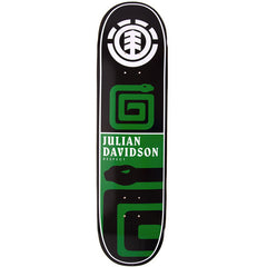 Element Davidson Chromatics - Green/Black - 8.25 - Skateboard Deck
