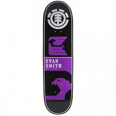 Element Smith Chromatics - Purple/Black - 8.37 - Skateboard Deck