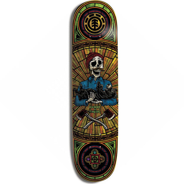 Element Timber Bright - Multi - 8.25 - Skateboard Deck