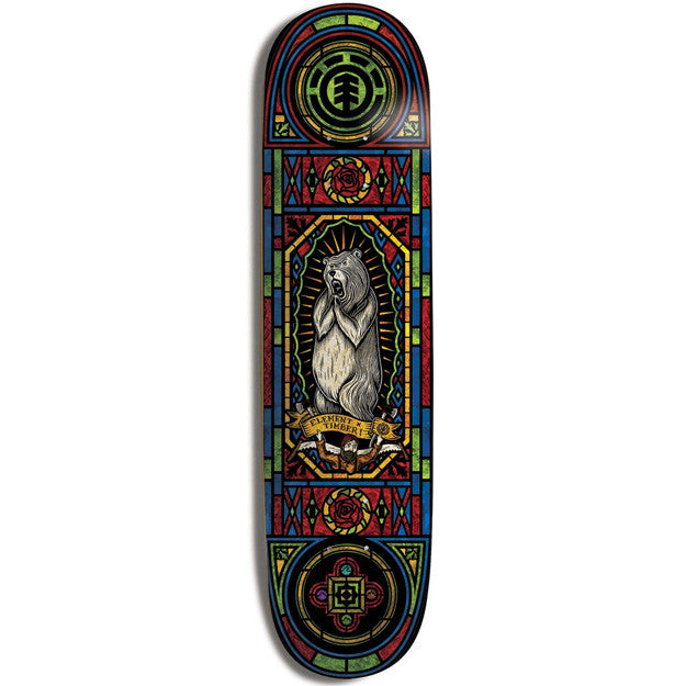 Element Timber Shine - Multi - 8.0 - Skateboard Deck