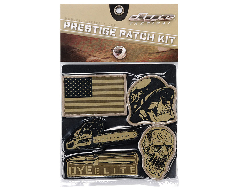 Dye 2011 Tactical Prestige Patch Kit - Emblem