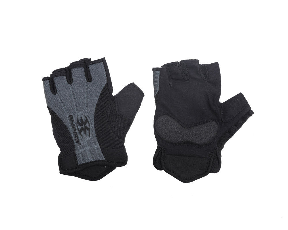 Empire 2012 Fingerless Paintball Gloves - Grey