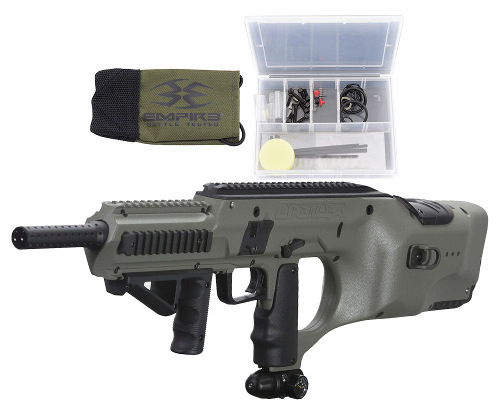 Empire Battle Tested D*Fender Paintball Gun - Army Green