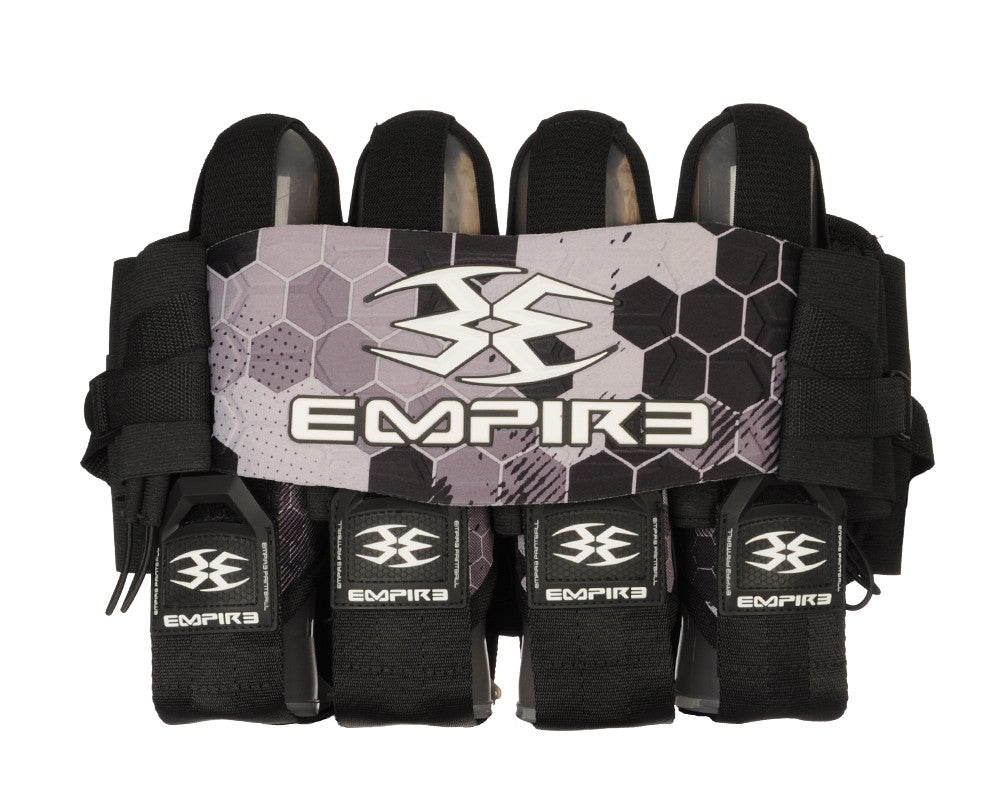 Empire 2014 Compressor Pack Hex FT Paintball Harness - 4+7 - Black