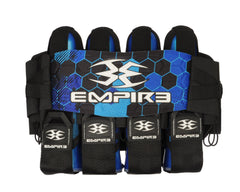 Empire 2014 Compressor Pack Hex FT Paintball Harness - 4+7 - Blue