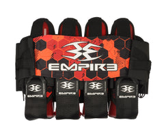 Empire 2014 Compressor Pack Hex FT Paintball Harness - 4+7 - Red