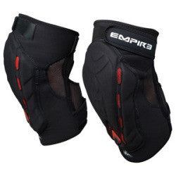 Empire 09 Grind Pro Knee Pads - Black/Red