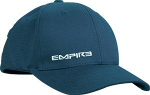 Empire 09 Text Men's Fitted Hat - Blue