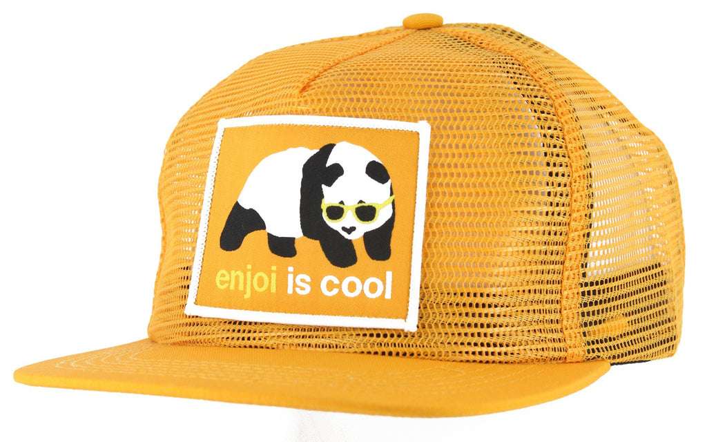 Enjoi Strainer Mesh Cap - Orange - Men's Hat