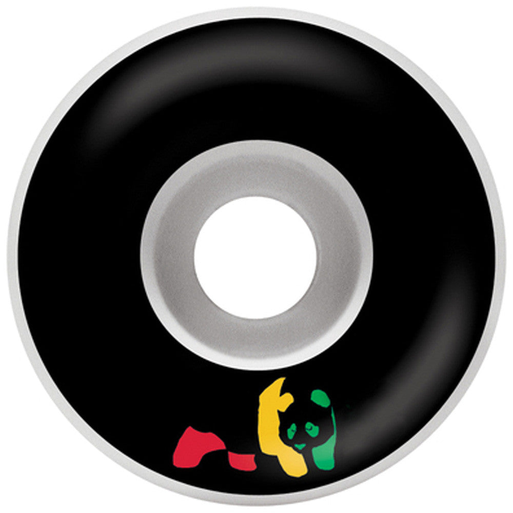 Enjoi Rasta Panda Standard - Black - 52mm - Skateboard Wheels (Set of 4)