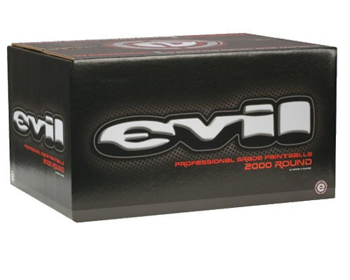 Evil Paintballs Case 1000 Rounds - Yellow Fill