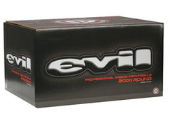 Evil Paintballs Case 2000 Rounds - Yellow Fill