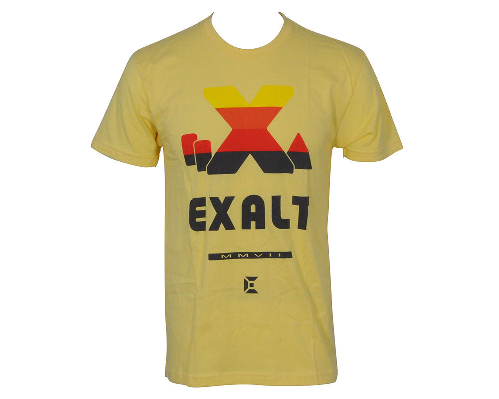 Exalt Retro X-Ball Paintball T-Shirt - Yellow