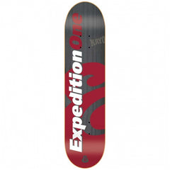 Expedition Price Point - Black/Red - 8.06 - Skateboard Deck