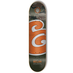 Expedition Welsh Material E - Camo/Orange - 7.75 - Skateboard Deck