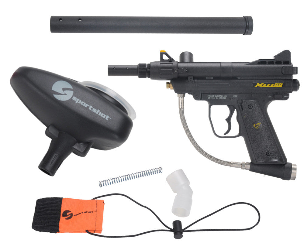 Extreme Rage Maxx .55 Caliber Paintball Gun Starter Pack
