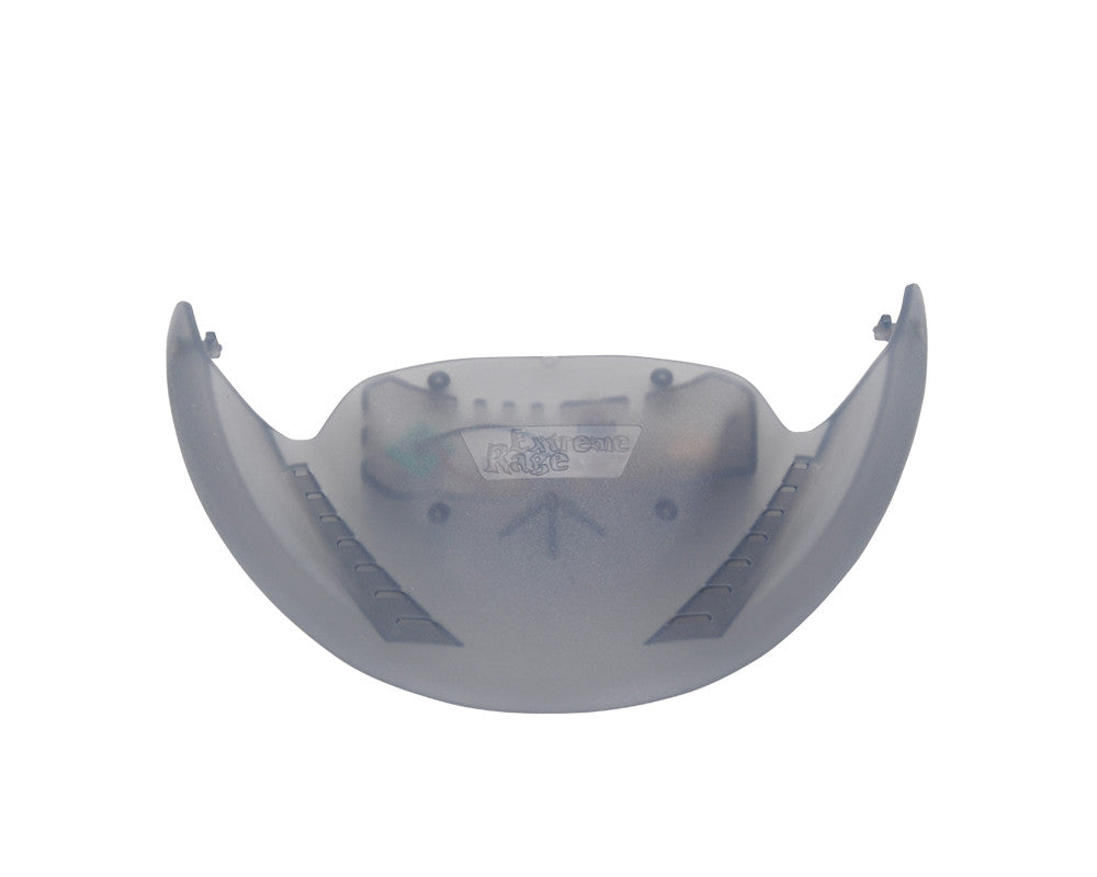 Extreme Rage Echo 20/20 Visor w/ Fan - Smoke