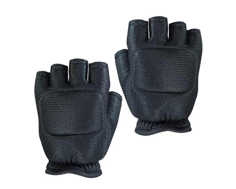 Empire Battle Tested Soft Back Fingerless Paintball Gloves