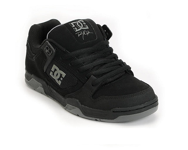 DC Flawless - Black/Battleship - Men's Skateboard Shoes