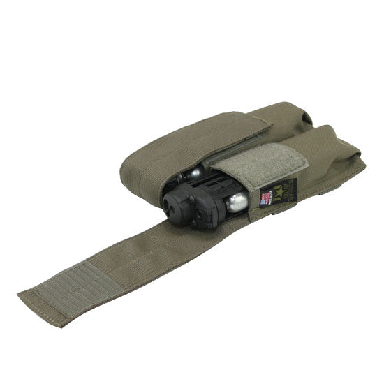 Full Clip Tiberius Double Mag Pouch - Ranger Green