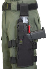 Full Clip Holster Thigh Rig - Left - Black