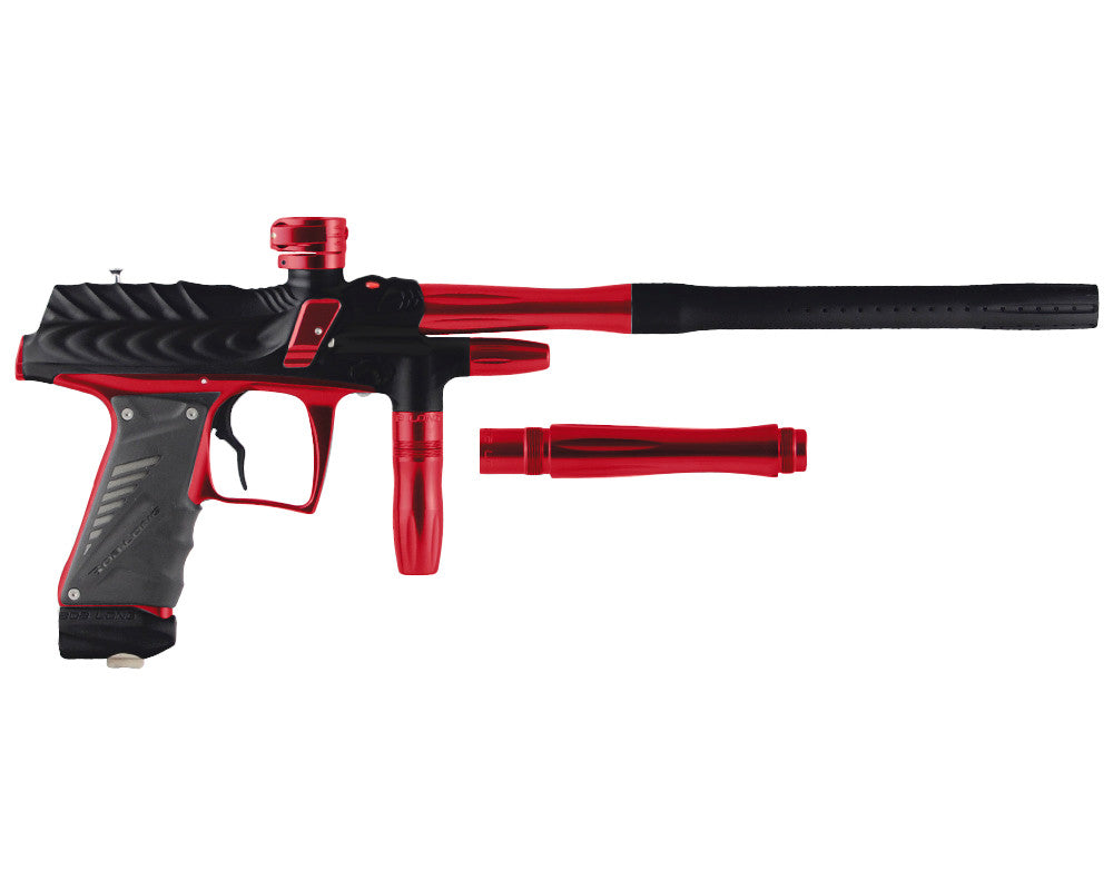 Bob Long Dragon G6R Intimidator - Dust Black/Polished Red