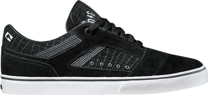 Globe The Heathen Black/White - Skateboard Shoes