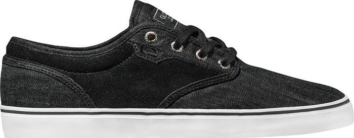 Globe Motley - Black Chambray - Skateboard Shoes