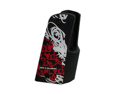 Gen X Global Skull Graffiti 45 Grip - Black/White/Red