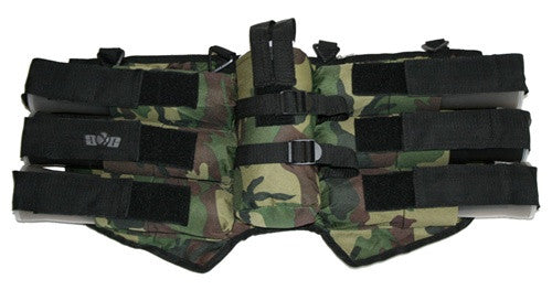 Gen X Global 6+1 Horizontal Paintball Harness - Woodland Camo
