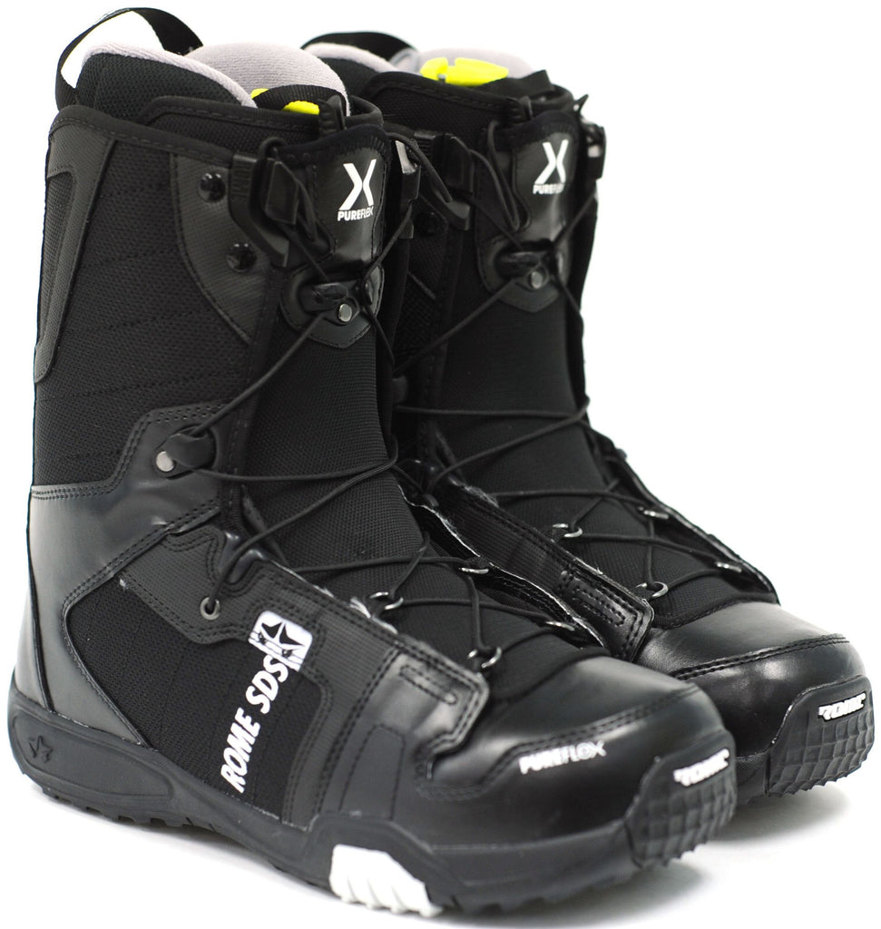Rome Smith 11 - Men's Black Snowboard Boots