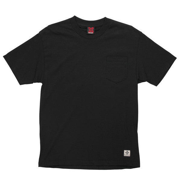 Independent NBT Pocket S/S - Black - Men's T-Shirt