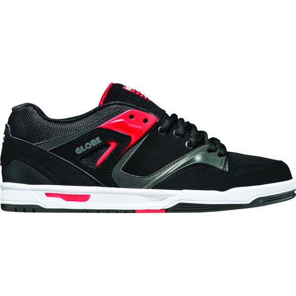 Globe Pursuit - Black/Fiery Red - Skateboard Shoes