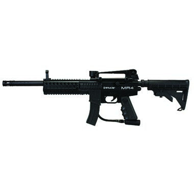 Kingman Spyder MR4 Pro Paintball Gun - Diamond Black