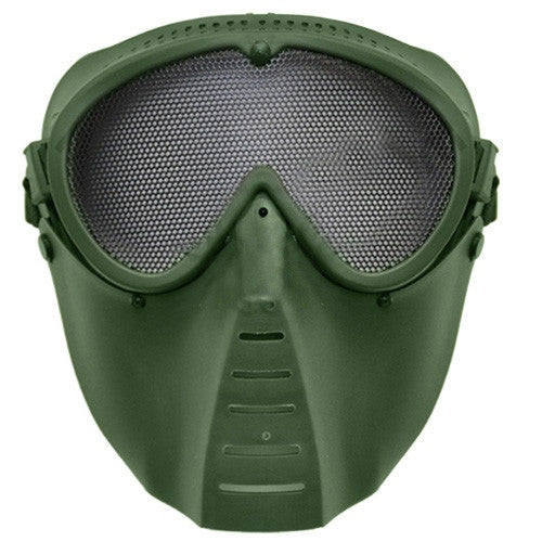 Airsoft Tactical Mask - Olive
