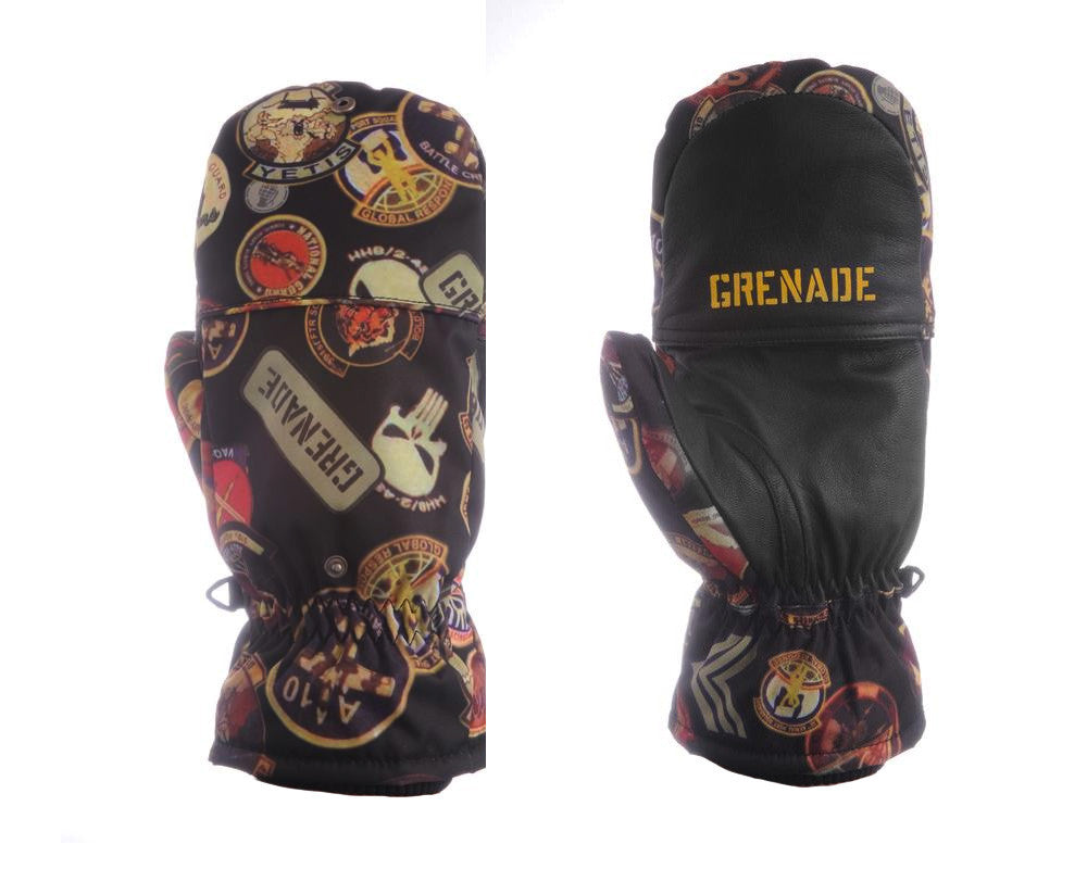 Grenade Oven Mitt - Afghan - Men's Gloves