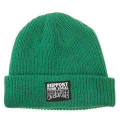 Creature Support Long Shoreman - Hunter Green - One Size Fits All - Men's Beanie