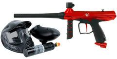 Tippmann Gryphon Paintball Gun Starter Kit - Red