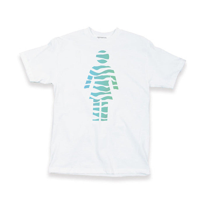 Girl Tigirl - White - Men's T-Shirt