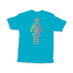 Girl Tigirl - Turquoise - Men's T-Shirt