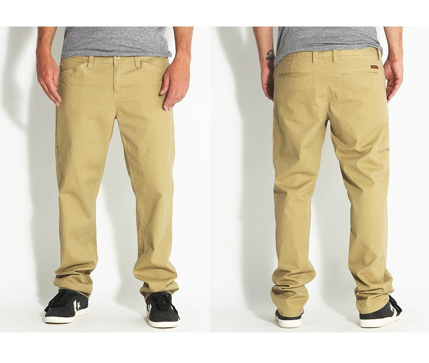 Habitat Utility Chino - Wheat - Mens Pants