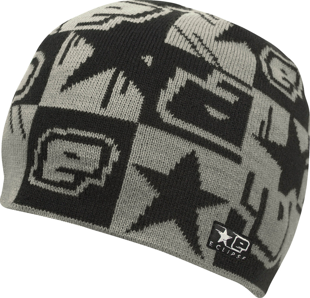 Planet Eclipse 2013 Squared Beanie - Black Grey