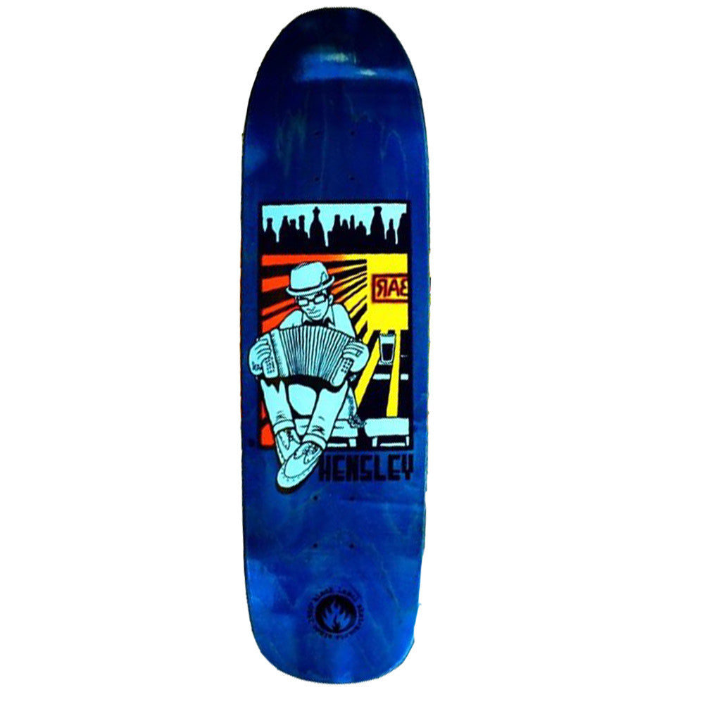 Black Label Matt Hensley Tribute - Blue - 8.75 - Skateboard Deck