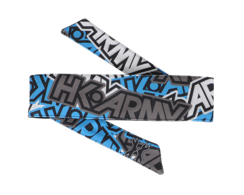 HK Army Headband - Radical Blue